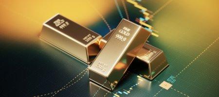 Цена золота снизилась к поддержке $1858 за унцию