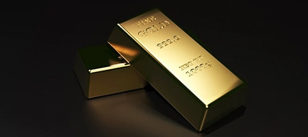 Золото торгуется около 8-недельного минимума