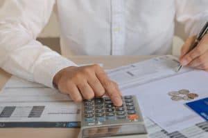Рассчет финансового рычага